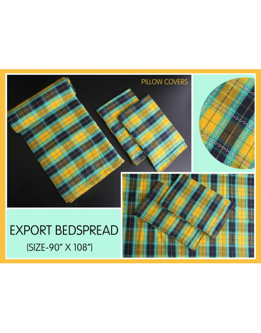 BED SPREAD +2 PILLOW COVER 220X270 CM