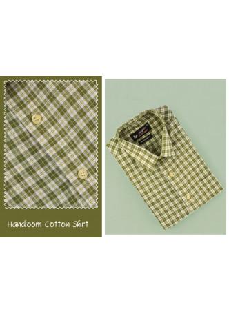 Handloom Shirts-HALF HAND
