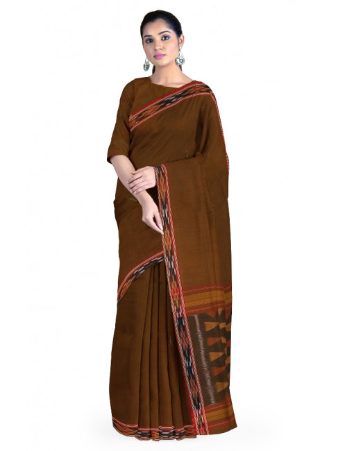 PONNAI TIE & DYE SAREE WITH BLOUSE