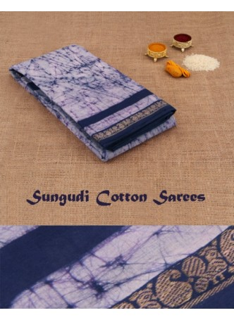 Madurai Sungudi Cotton Sarees